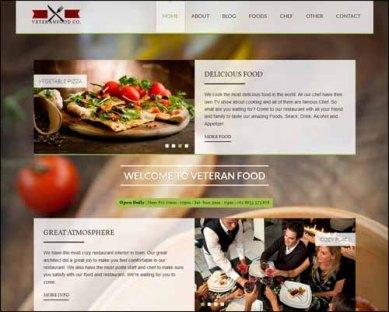 veteranfood-wordpress-restaurant-theme