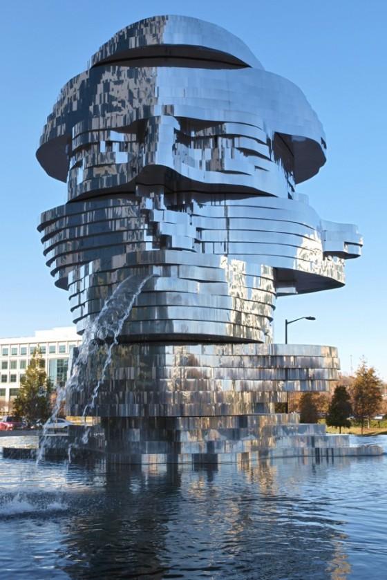 metalmorphisis fountain